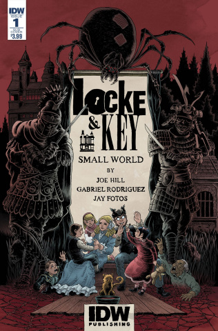 Locke & Key: Small World (Subscription Cover B)