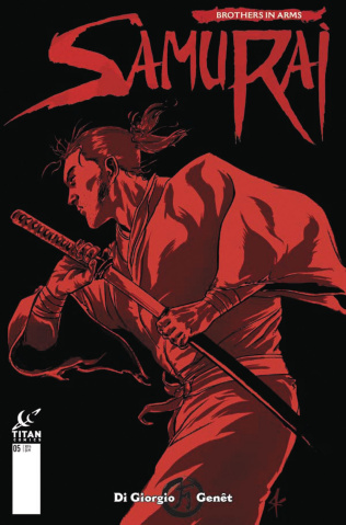 Samurai: Brothers in Arms #1 (Kurth Cover)