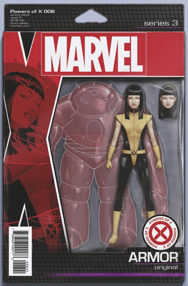 Powers of X #6 (Christopher Action Figure Cover)
