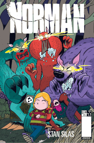 Norman: The First Slash #3 (Ellerby Cover)