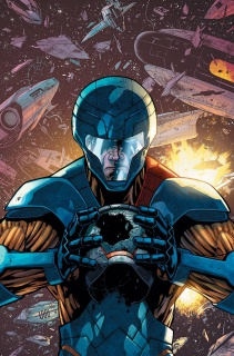 X-O Manowar #23 (Cafu Cover)