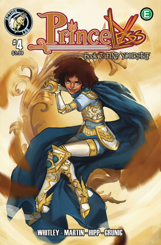 Princeless: Find Yourself #4 (Knight Cover)