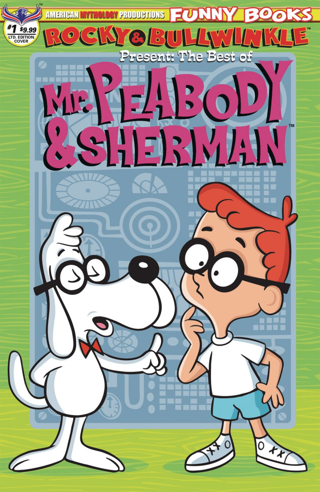 Rocky & Bullwinkle Present: The Best of Mr. Peabody & Sherman #1 (Limited Cover)