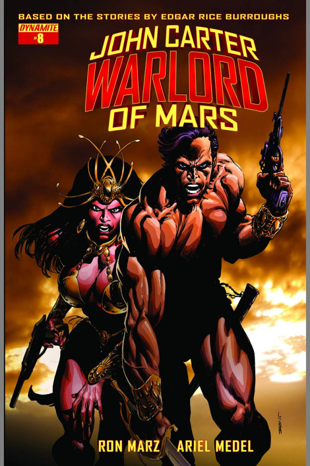 John Carter: Warlord of Mars #8 (Sears Cover)