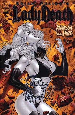 Lady Death: Abandon All Hope #4 (Platinum Foil Cover)