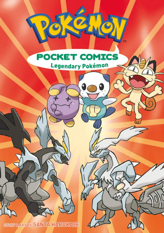 Pokémon Pocket Comics: Legendary Pokémon