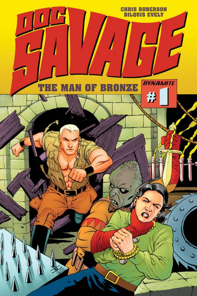 Doc Savage #1 (Cassaday Cover)