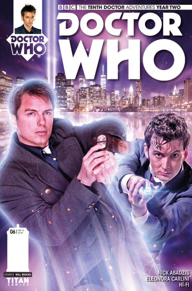 Doctor Who: New Adventures with the Tenth Doctor, Year Two #6 (Subscription Photo Cover)