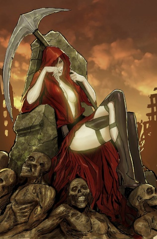 Grimm Fairy Tales: Grimm Tales of Terror #4 (Sejic Cover)