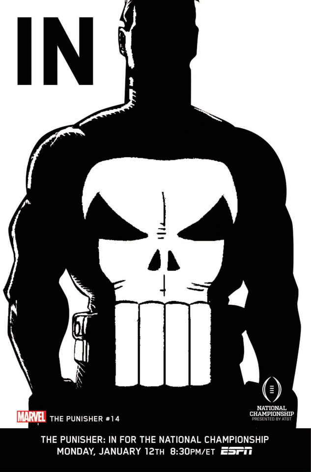 The Punisher #14 (IN Cover)