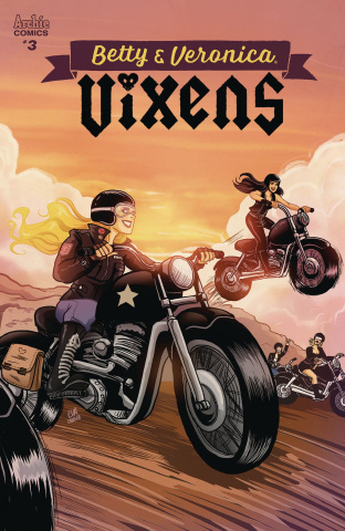 Betty & Veronica: Vixens #3 (Eva Cabrera Cover)