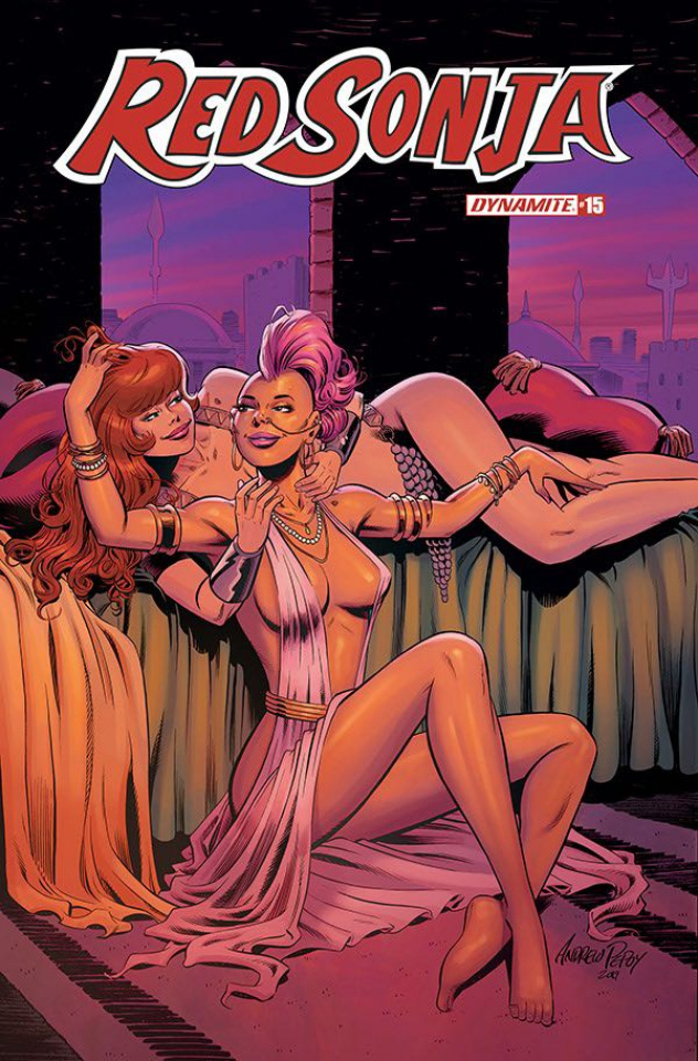 Red Sonja #15 (10 Copy Pepoy Seduction Cover)