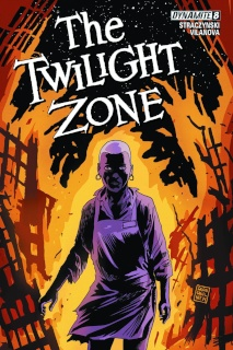 The Twilight Zone #8 (50 Copy Francavilla Virgin Cover)