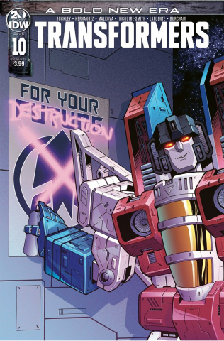 The Transformers #10 (McGuire-Smith Cover)