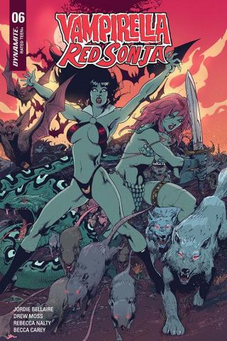 Vampirella / Red Sonja #6 (Castro Bonus Cover)