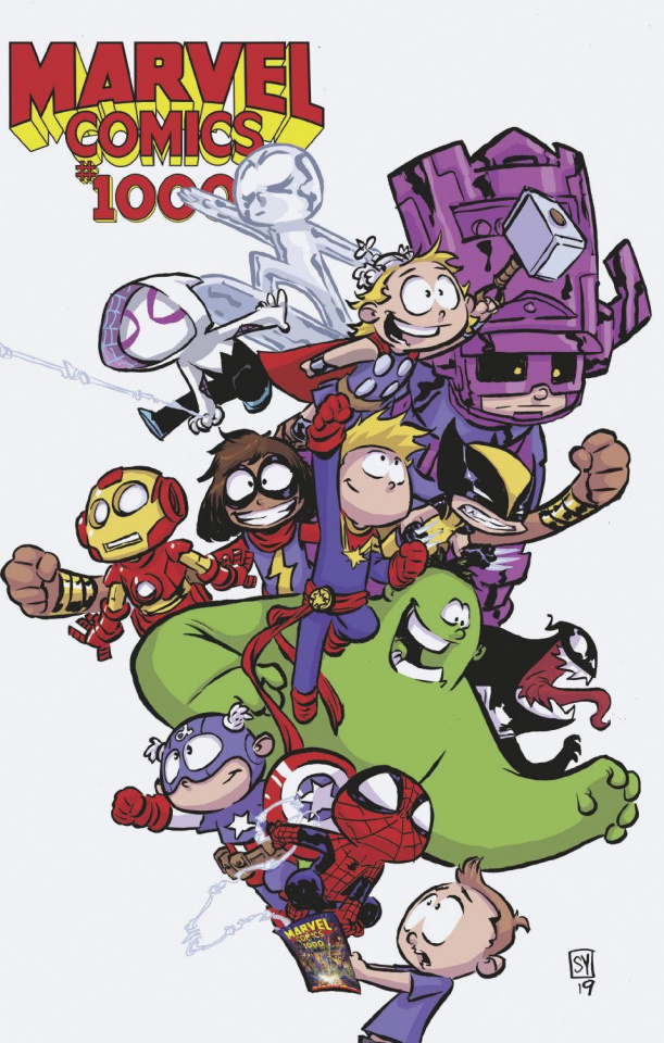 Marvel Comics #1000 (Young Cover)