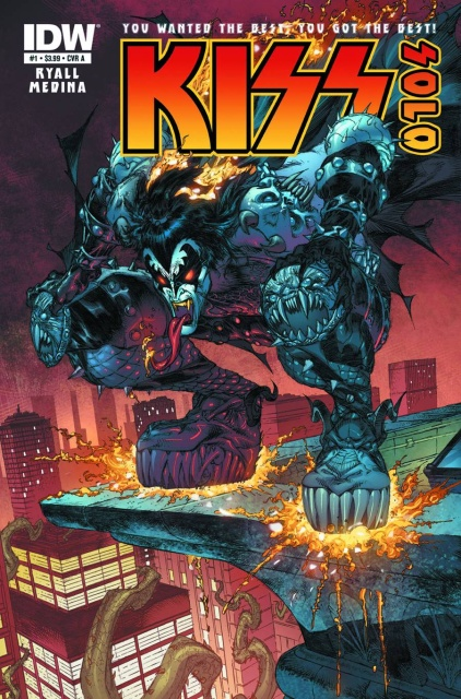 KISS: Solo #1 (10 Copy Cover)