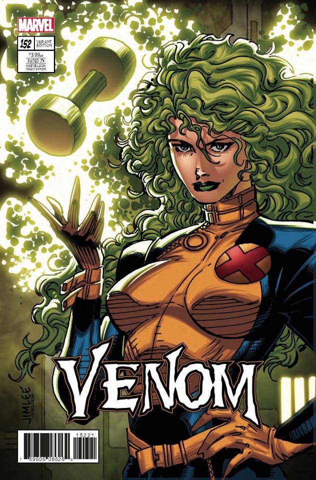 Venom #152 (X-Men Card Cover)