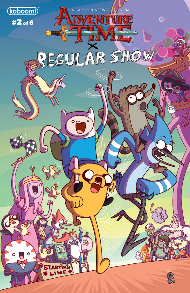 Adventure Time: Regular Show #2 (Subscription Morrison Cover)