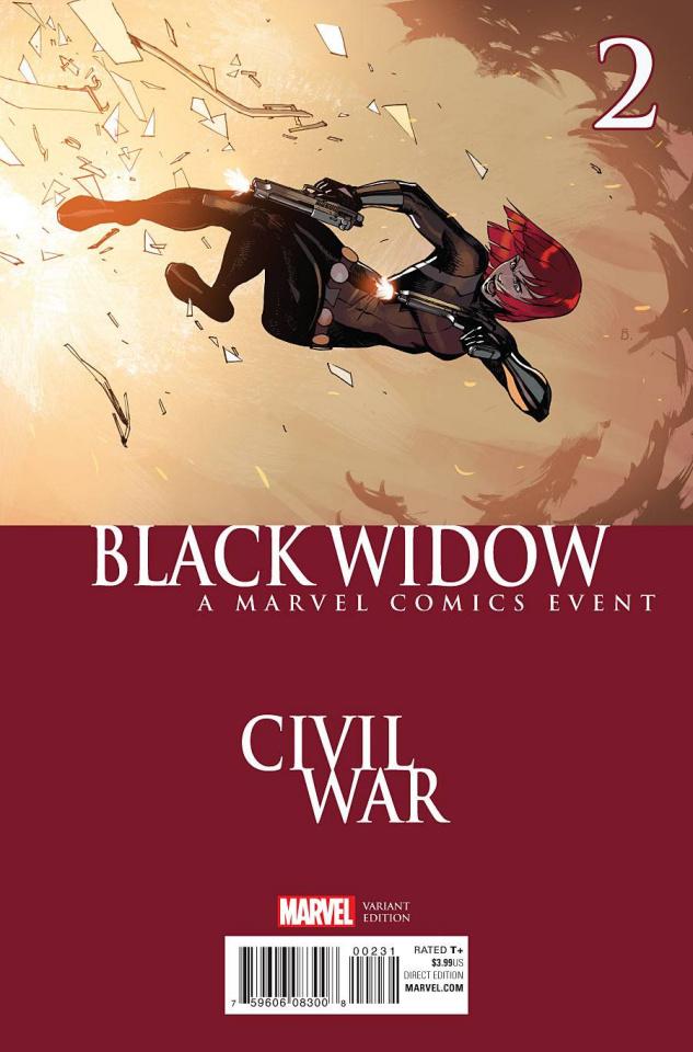 Black Widow #2 (Bengal Civil War Cover)