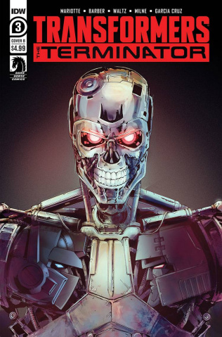 The Transformers vs. The Terminator #3 (Griffith Cover)