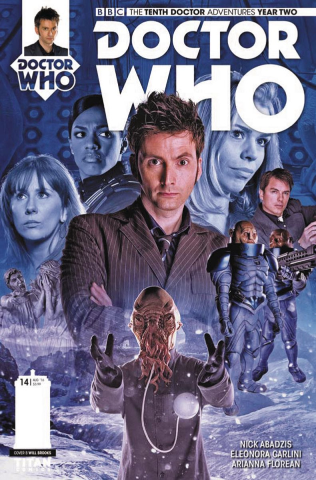 Doctor Who: New Adventures with the Tenth Doctor, Year Two #14 (Photo Cover)