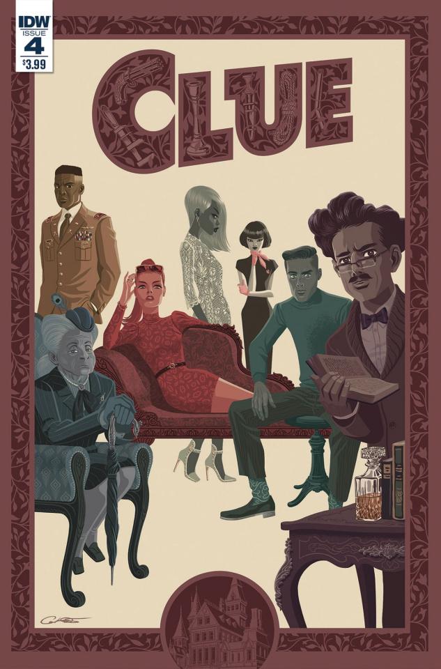 Clue #4 (Caltsoudas Cover)