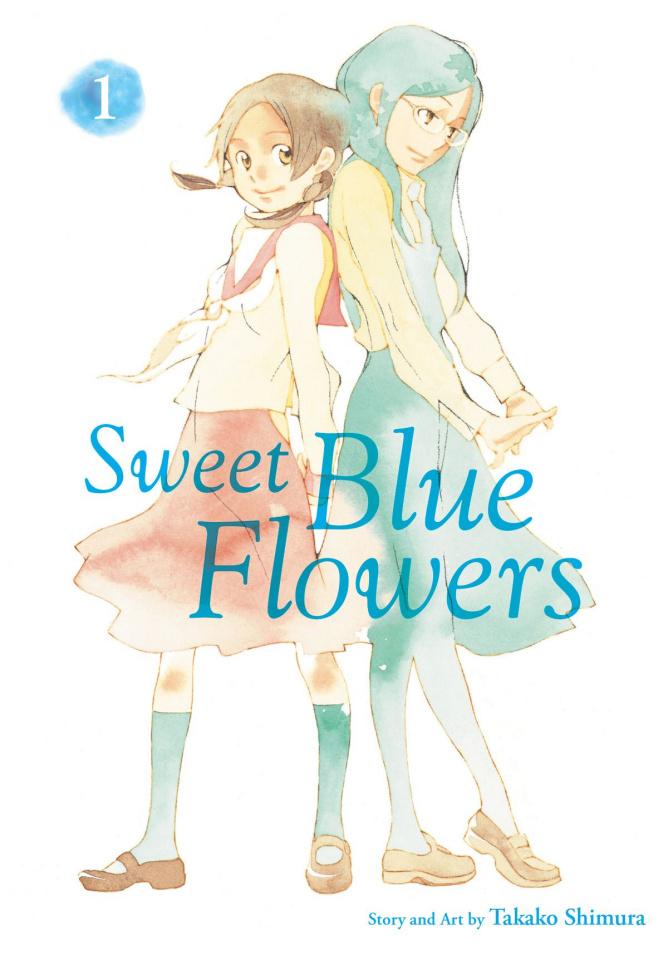 Sweet Blue Flowers Vol. 1
