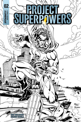 Project Superpowers #2 (20 Copy Royle B&W Cover)
