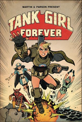 Tank Girl #8 (Parson Cover)