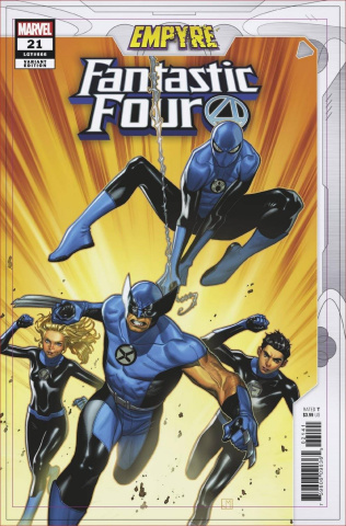 Fantastic Four #21 (Molina Empyre Cover)