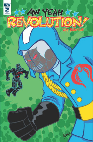Revolution: Aw Yeah! #2 (10 Copy Cover)