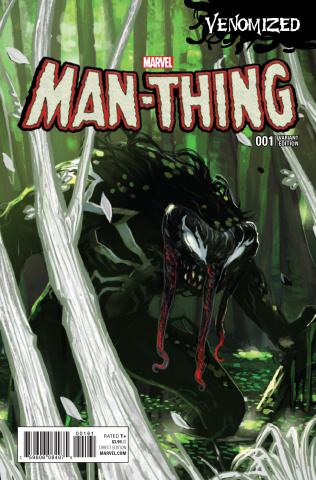 Man-Thing #1 (Venomized Cover)