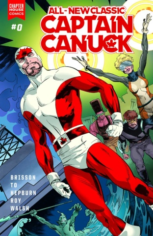 All-New Classic Captain Canuck #0
