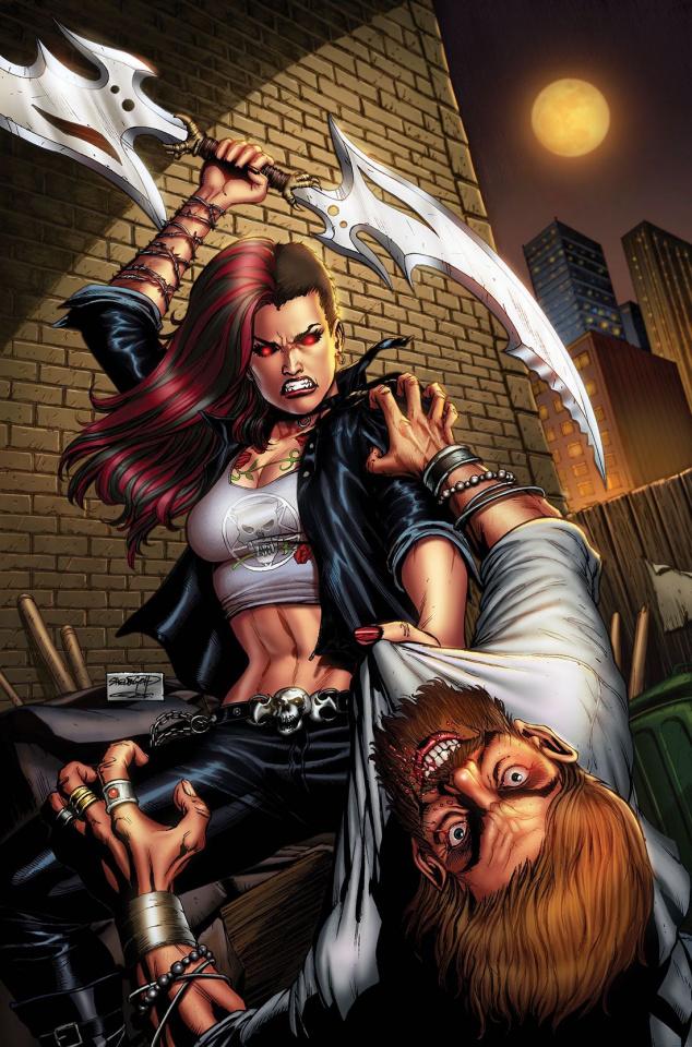 Hellchild: The Unholy #2 (Goh Cover)