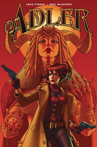 Adler #4 (McCaffrey Cover)