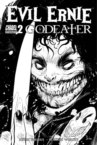 Evil Ernie: Godeater #2 (10 Copy B&W Cover)