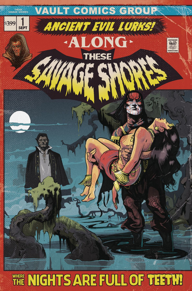 These Savage Shores #1 (2nd Printing)