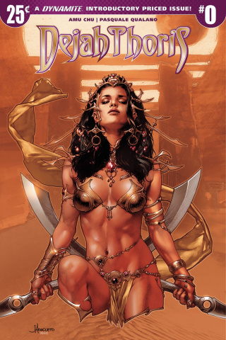 Dejah Thoris #0 (Anacleto Cover)