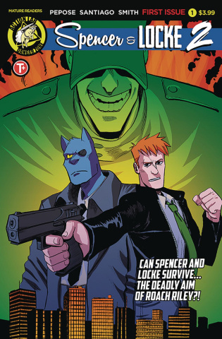 Spencer & Locke 2 #1 (Santiago Cover)