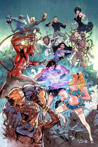 Grimm Fairy Tales #125 (Malsuni Cover)