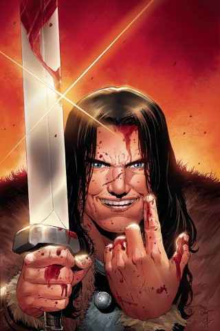 The Cimmerian: The Frost Giant's Daughter #2 (20 Copy Casas Virgin Cover)