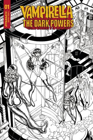 Vampirella: The Dark Powers #1 (11 Copy Robson B&W Cover)