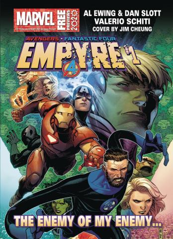 Marvel Previews #33: April 2020 Extras