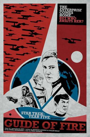 Star Trek: Year Five #13 (10 Copy Lendl Cover)