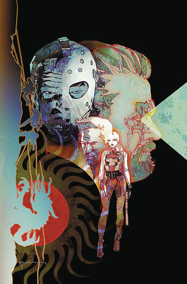 Cave Carson Has a Cybernetic Eye #1 (Sienkiewicz Cover)