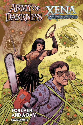 Army of Darkness / Xena: Forever... And a Day #5 (Strahm Cover)