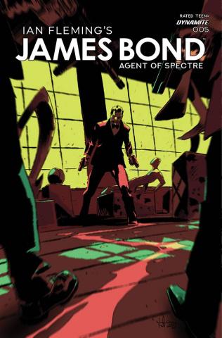 James Bond: Agent of SPECTRE #5 (Casalanguida Cover)