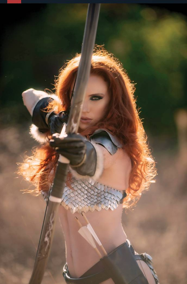 Red Sonja: The Superpowers #5 (35 Copy Cosplay Virgin Cover)