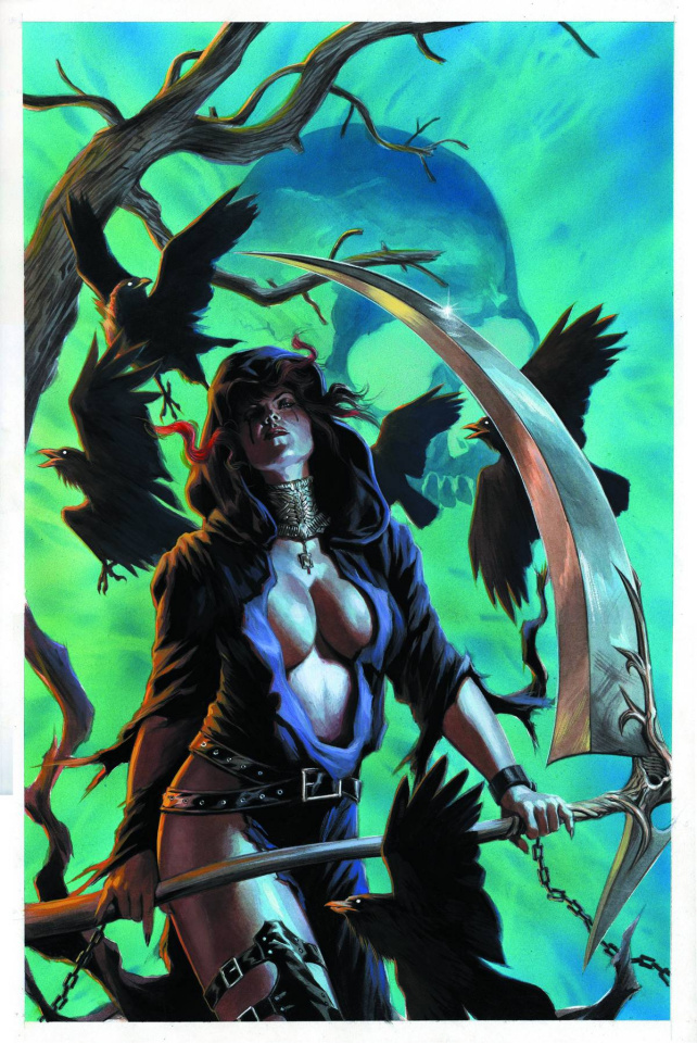 Grimm Fairy Tales: No Tomorrow #5 (Massafera Cover)